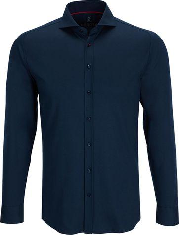 Desoto Shirt Non Iron Navy 057