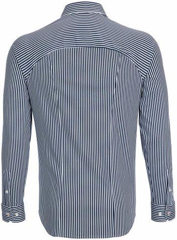 Desoto Shirt Non Iron Navy Stripe