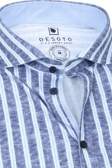 Desoto Shirt Non Iron Stripes 539