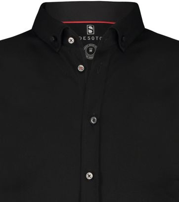 Desoto Shirt Short Sleeve Black 081