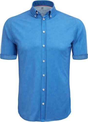 Desoto Shirt Short Sleeve Blue