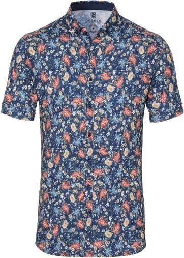 Desoto Shirt Short Sleeve Flowers