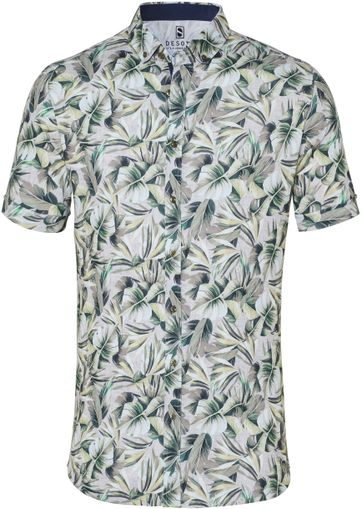 Desoto Shirt Short Sleeve Flowers 616