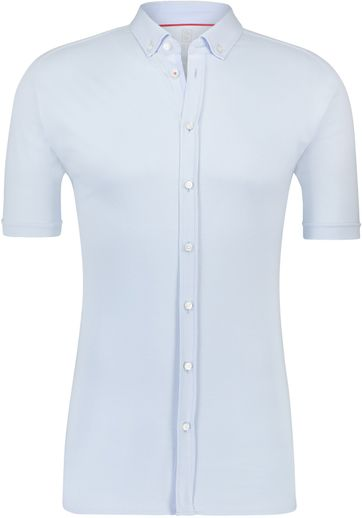 Desoto Shirt Short Sleeve Light Blue 051