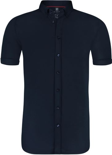 Desoto Shirt Short Sleeve Navy 057