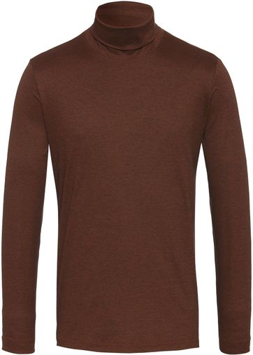 Desoto Turtleneck Brown