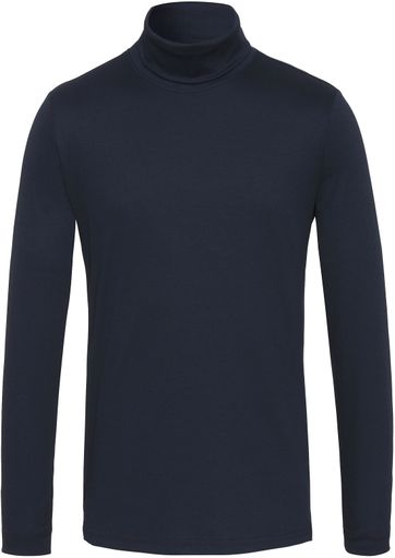Desoto Turtleneck Dark Blue