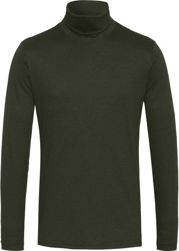 Desoto Turtleneck Dark Green