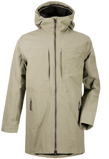 Didriksons Alve Parka Light Green