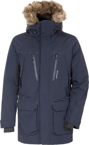 Didriksons Marco Parka Donkerblauw
