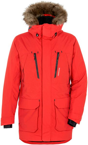 Didriksons Marco Parka Lava Rot