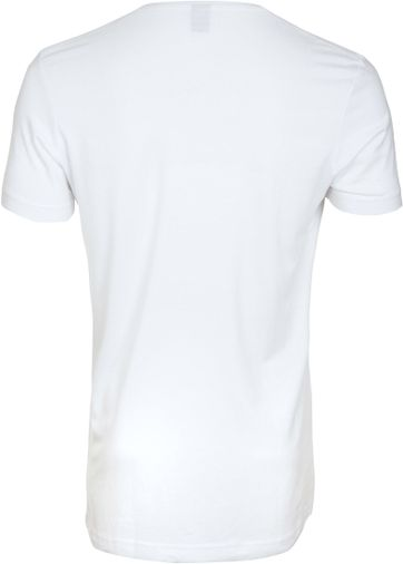 Diepe V hals 4-Pack Stretch Bamboe T-Shirt