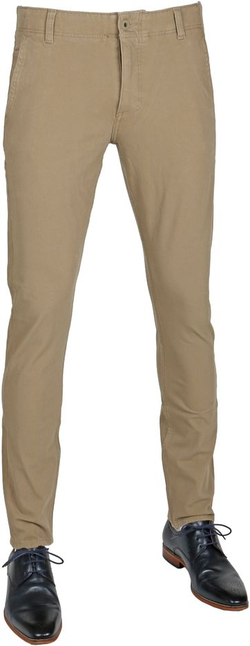 Dockers Alpha Khaki Skinny Tapered Smart 360 Flex