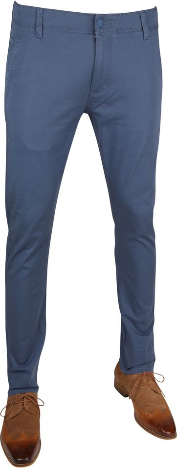 Dockers Alpha Skinny Chino 360 Flex Blau