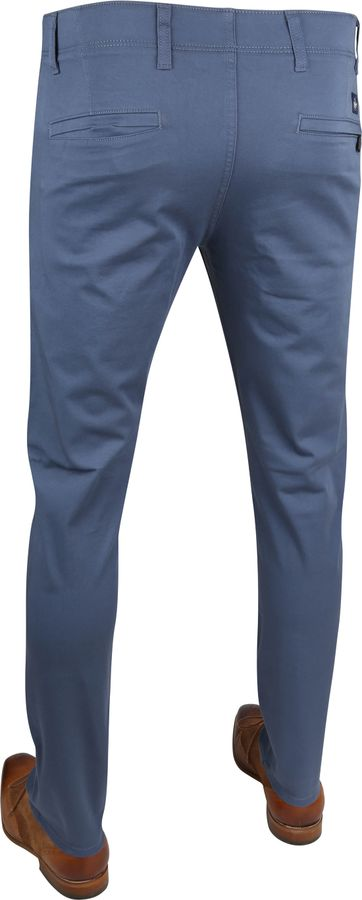 Dockers Alpha Skinny Chino 360 Flex Blauw