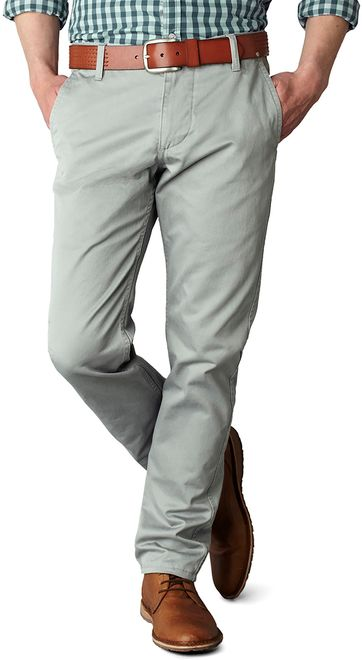 Dockers Alpha Slim Stretch Grau