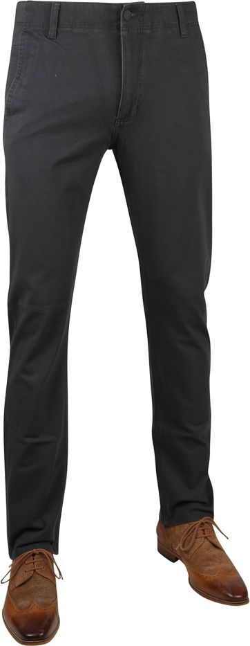 Dockers Alpha Tapered Chino 360 Flex Dark Grey