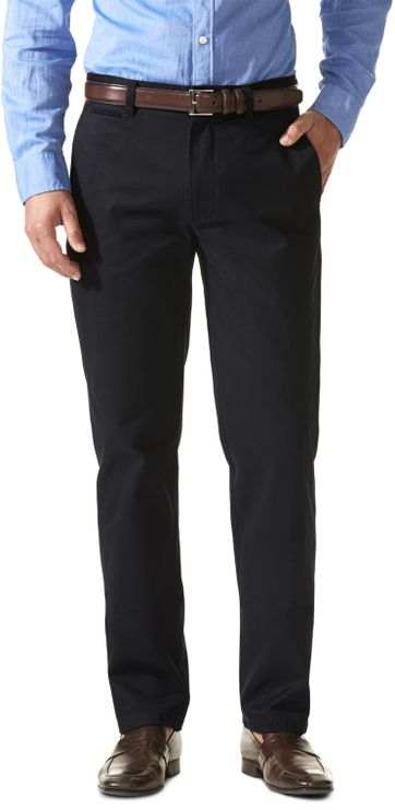 Dockers D1 Slim Pants Dark Blue