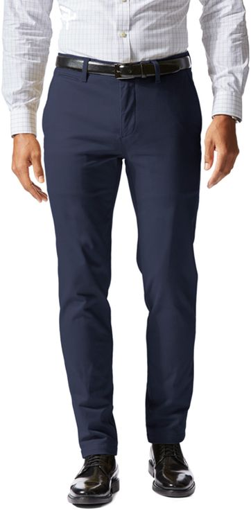 Dockers Trousers D1 Extra Slim Stretch Navy
