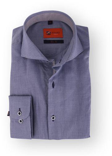 Donkerblauw Overhemd Slim Fit 112-04