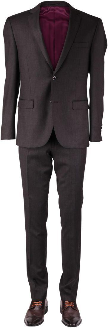 Donkerbruin Kostuum Marshall