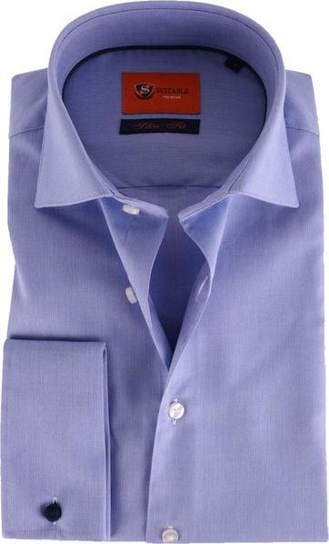 Double Cuff Shirt Blue 52-21