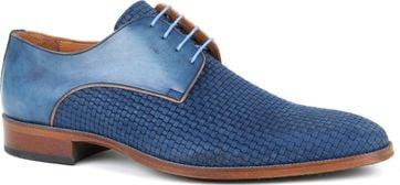 Dress Shoes Braid Blue