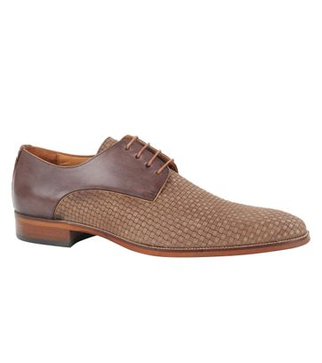 Dress Shoes Braid Brown