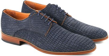 Dress Shoes Nubuck Navy