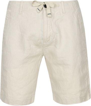 Dstrezzed Beach Shorts Linen Beige