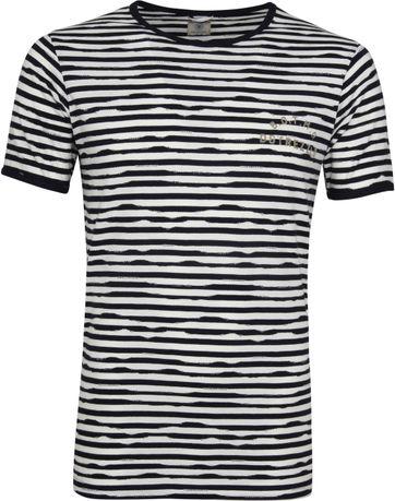 Dstrezzed Boat T-shirt Jaquard