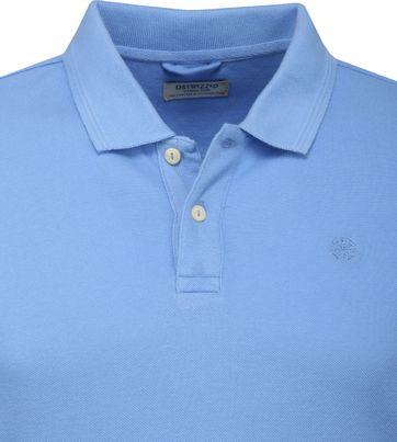 Dstrezzed Bowie Poloshirt Blau