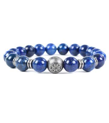 Dstrezzed Bracelet Lava Stone Blue