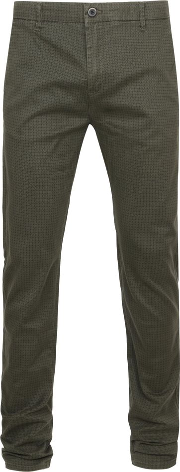 Dstrezzed Chino Graphic Dark Green