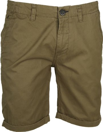 Dstrezzed Chino Short Dense Legergroen