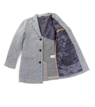 Detail Dstrezzed Coat Boucle Grijs