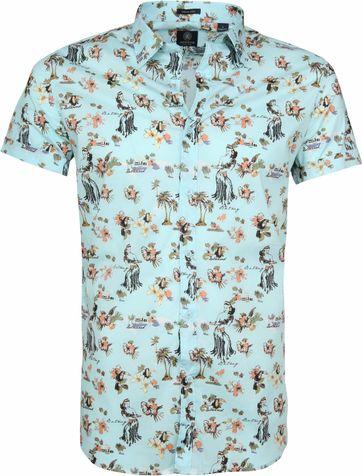 Dstrezzed Hawaii Shirt SS Lagoon