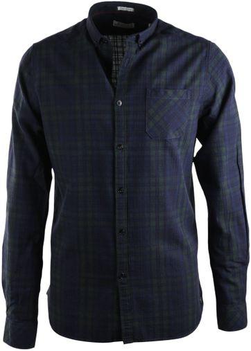Dstrezzed Hemd Blau Grün Karo
