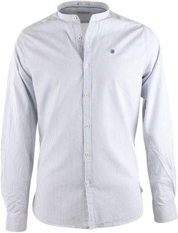 Dstrezzed Hemd Mao Streifen