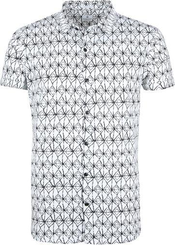 Dstrezzed Hemd Weiß Drucken