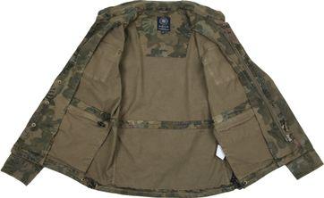 Dstrezzed Jacket Army Print