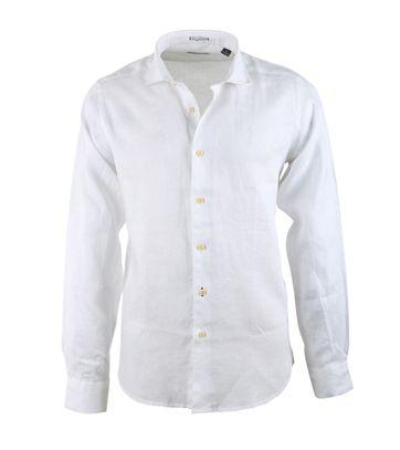 Dstrezzed Linnen Overhemd Wit