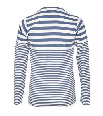 Detail Dstrezzed Longsleeve T-shirt Blau Streifen