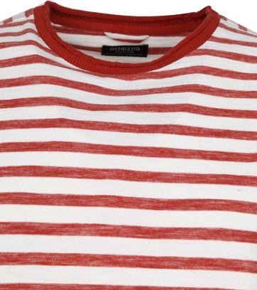 Dstrezzed Longsleeve T-shirt Streifen Rot