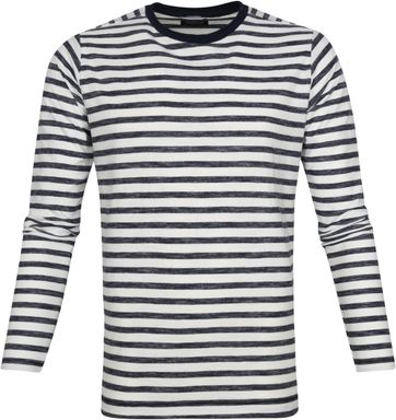 Dstrezzed Longsleeve T-shirt Stripes Navy