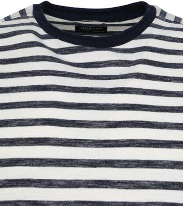 Dstrezzed Longsleeve T-shirt Stripes Navy
