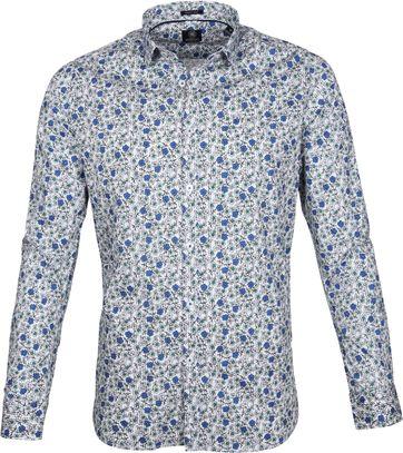 Dstrezzed Overhemd Blauw Bloem