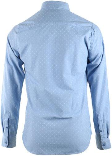 Detail Dstrezzed Overhemd Blauwe dots