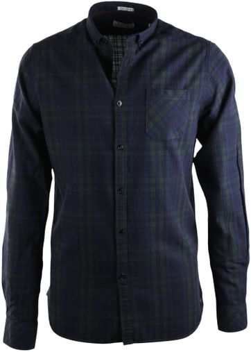 Dstrezzed Overhemd Blauwgroene ruit