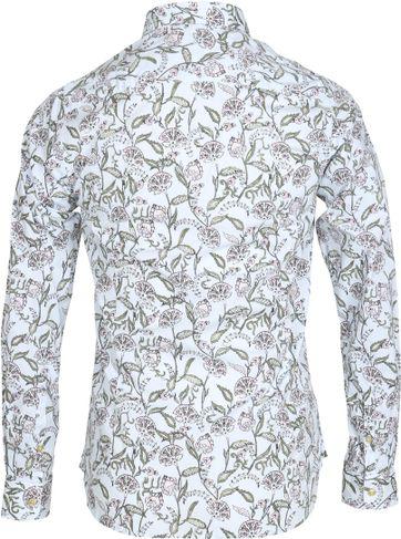 Detail Dstrezzed Overhemd Dessin Bloem